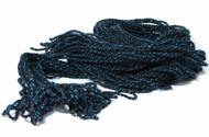 25 Yoyo King Ultra Premium Black with Blue Slick 6 Yoyo String