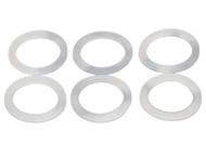 6 Yoyo King Silicone Response pads for Aluminum yoyo models