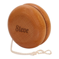 Yoyo King Personalized Custom Wooden Yoyo Natural
