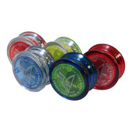 5 Vintage Bandai/Yomega Stealth Fire Yoyos with Yoyo Strings