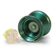 Duncan Origami Yoyo Green with counter weight