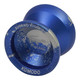 Recess Komodo yoyo Blue Silver splash