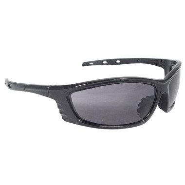 Radians® Chaos Evolution Series Safety Glasses Black Frame Smoke Lens  ## CS1-20 ##