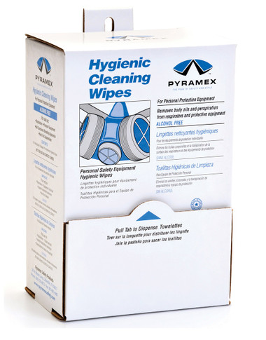 Pyramex Safety Equipment Cleaning Pads ##HCW100 ##