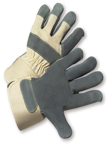 Premium Side Split Cowhide Palm Work Gloves - 525  ## 525 ##