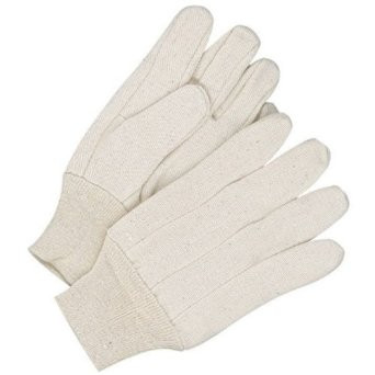 12oz Mens Cotton Canvas Work Gloves  ## 338 ##