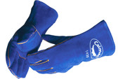 Premium Blue Select Reinforced Palm Welders Gloves  ## 1439 ##