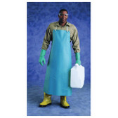 "Heavy Duty Green PVC 35"" x 45"" Aprons  ## 1910 ##"