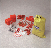 NORTH® Lockout / Tagout Electrical Kit  ## LK108FE ##
