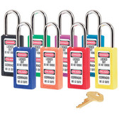 Master Lock® LOTO (Lockout Tagout) Long Xenoy Padlocks ##411 ##