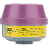 NOS7583P100 - Organic Vapor & Acid Gas Cartridge + P100 Particulate Filter  ## NOS7583P100 ##