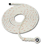 FCP® Rope Lifelines - 50 foot - Locking Snap / Thimble Snap  ## 411-50 ##