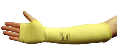 "Cut Level 2 - Kevlar® Fiber Protective Sleeves - 18"" with Thumb Sleeve ##KS18TH ##"