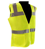 ERB Class 2 Hi-Vis Lime Green Safety Vest ##VEST 720 ##