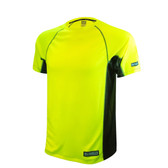 DEWALT Non-Rated Two Tone Performance Short-Sleeved Hi-Vis Green T-Shirt  ## DST11-NPGB ##