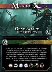 Malifaux Generalist Upgrade Deck - M2E
