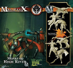 Malifaux Monks of High River (3 Pack Box Set) - Ten Thunders - M2E