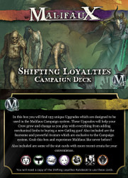Malifaux Shifting Loyalties Campaign Deck - M2E