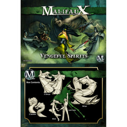 Malifaux Vengeful Spirits (Kirai Box Set) - Resurrectionists - M2E