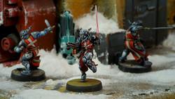 Infinity Knight Hospitaller (HMG) - PanOceania
