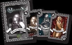 Malifaux Black Arcane Fate Deck - M2E