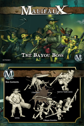 Malifaux The Bayou Boss (Somer Box Set) - Gremlins - M2E