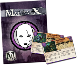 Malifaux Neverborn Wave 2 Arsenal Deck - M2E