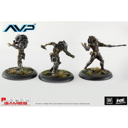 AvP - Predators x3