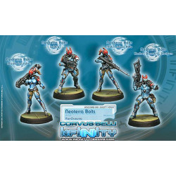 Infinity NeoTerra Bolts (Support Weapons) (4) - PanOceania
