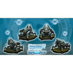 Infnity Armbots Bulleteer Unit Box (Spitfire, Heavy Shotgun) (2) - PanOceania