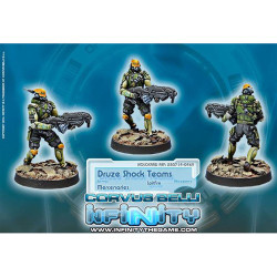 Infinity Druze Shock Team (Spitfire) - Mercenaries