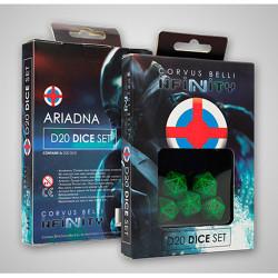 Infinity Ariadna D20 Dice Set