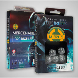 Infinity Mercenaries D20 Dice Set