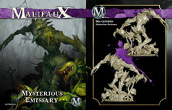 Malifaux Mysterious Emissary - Neverborn - M2E