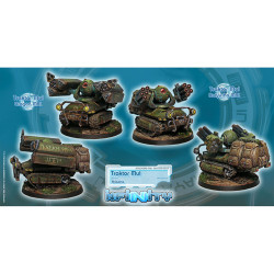 Infinity Traktor Muls. Regiment of Artillery and Support Unit Box (2) - Ariadna
