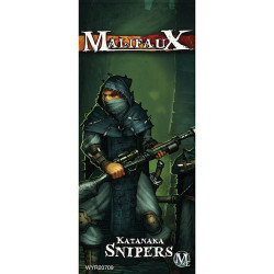 Malifaux Katanaka Snipers - Ten Thunders - M2E
