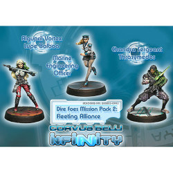 Infinity Dire Foes Mission Pack: Fleeting Alliance