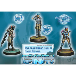 Infinity Dire Foes Mission Pack: Train Rescue