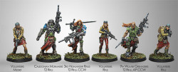 Infinity Caledonian Highlander Army Sectorial Starter Pack NEW - Ariadna