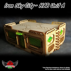 Iron Sky City Hab Unit A (3 Pack)