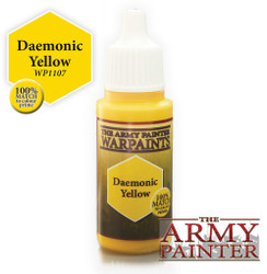 Army Painter: Warpaints Daemonic Yellow 18ml