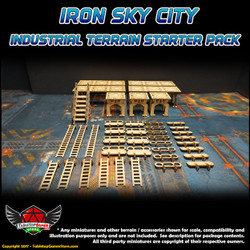 Iron Sky City Industrial Terrain Starter Pack