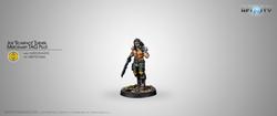 Infinity Mercenarios Joe Scarface Turner - Mercenary Tag