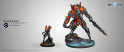Infinity Avatar & Staldron - Combined Army