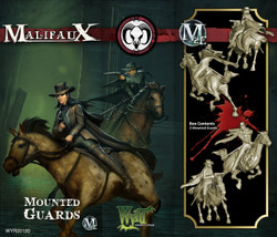Malifaux Mounted Guards - Guild - M2E