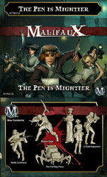 Malifaux The Pen is Mightier - Guild - M2E