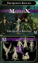 Malifaux The Queen's Return - Neverborn - M2E