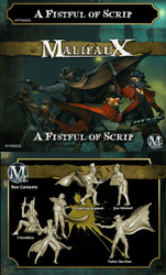 Malifaux A Fistful of Scrip - Parker - Outcasts - M2E
