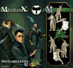 Malifaux Shieldbearers - Resurrectionists - M2E