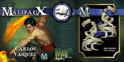 Malifaux Carlos Vasquez - Ten Thunders - M2E